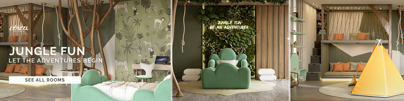 Step inside the funnest jungle ever
