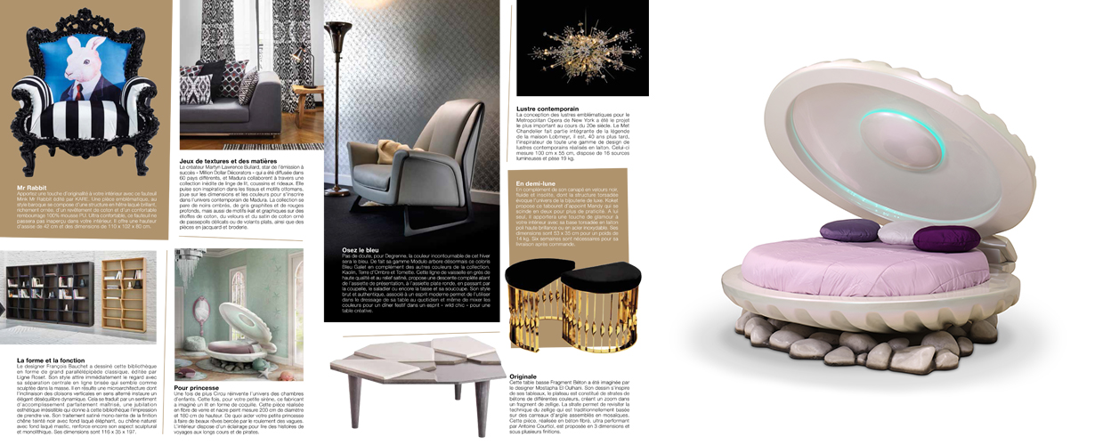 Entre Luxe 2016 Press Clipping of Circu Magical Furniture Luxury brand for children