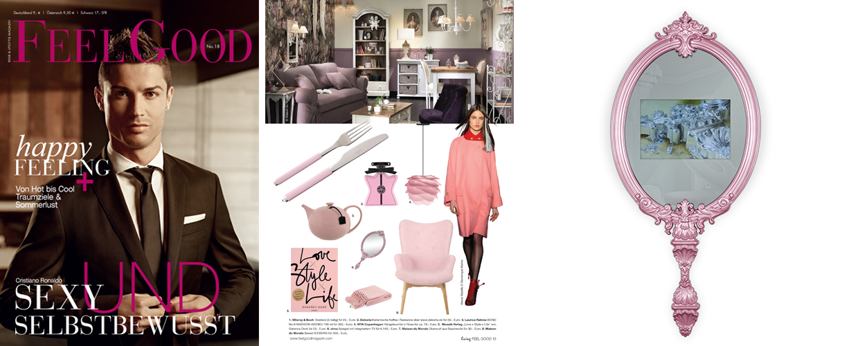 Feel Good 2016 Press Clipping of Circu Magical Furniture Luxury brand for children