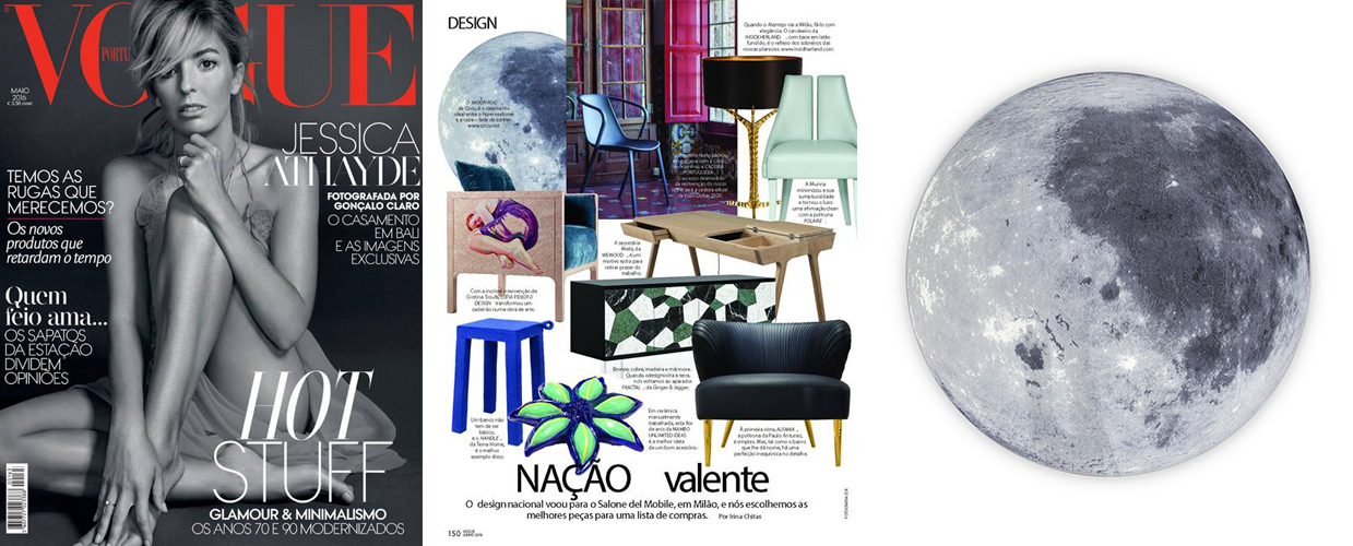 Vogue Portugal 2016 Press Clipping of Circu Magical Furniture Luxury brand for children