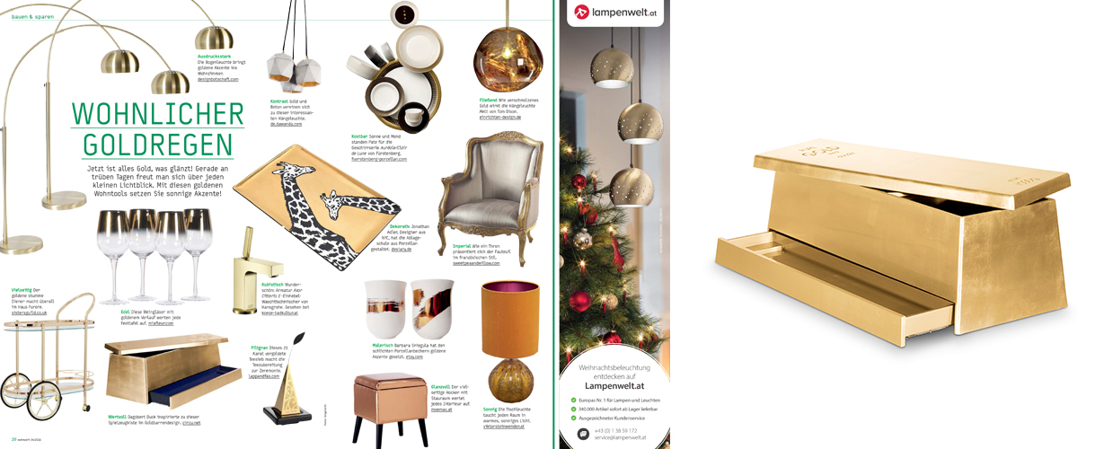 Whonzeit 2016 Press Clipping of Circu Magical Furniture Luxury brand for children