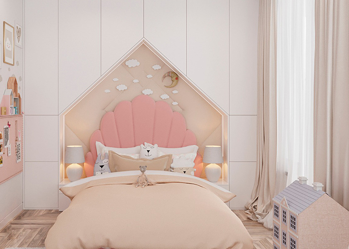 A fairytale bedroom brought to life