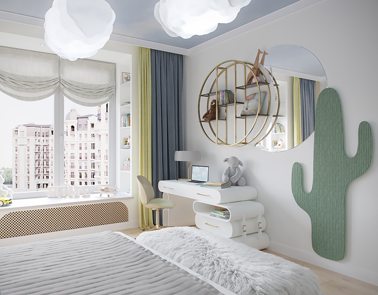 Pastel Color Bedroom Full of Brightness