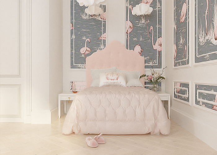 Whimsical Pink Room
