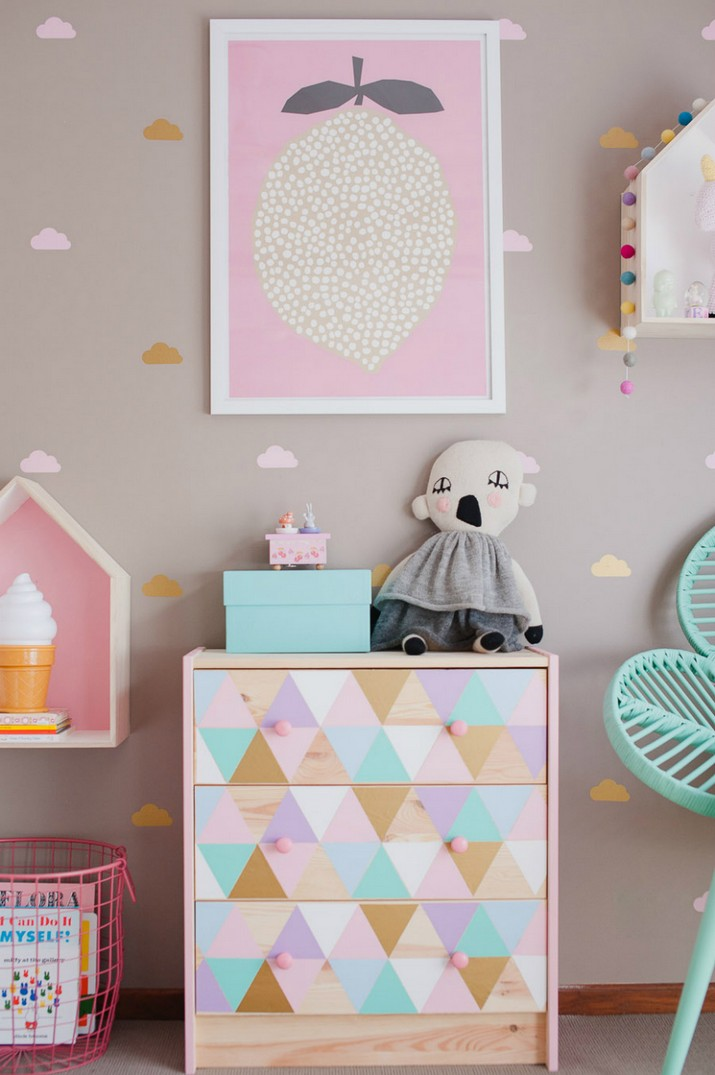 Kids Bedroom Furniture: Chest Drawers for Girls You'll Absolutely Love