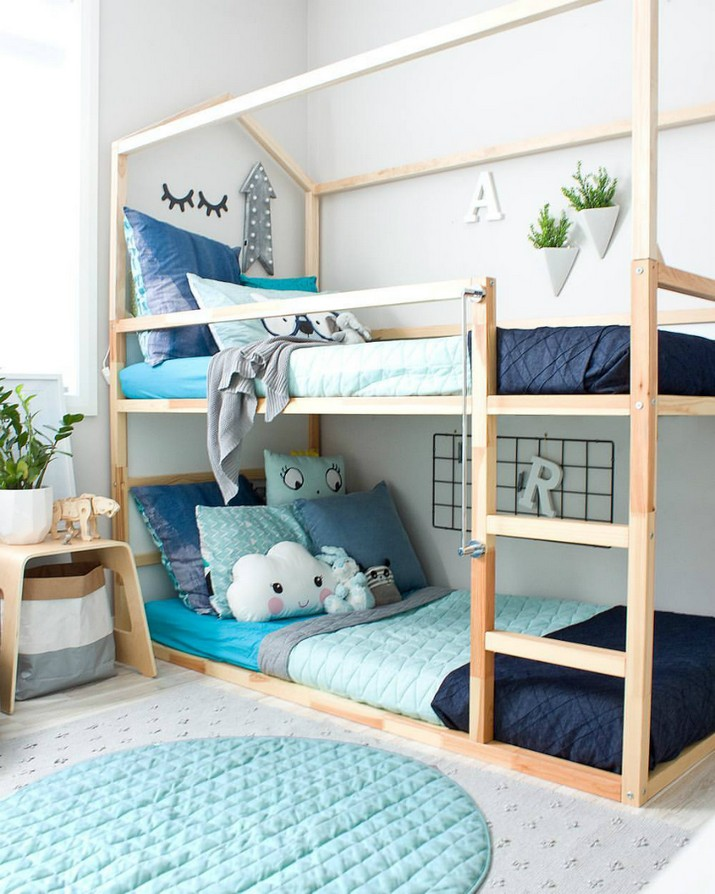 . Natural Wood Ideas to Inspire Your Kids Bedroom Decor   Inspirations
