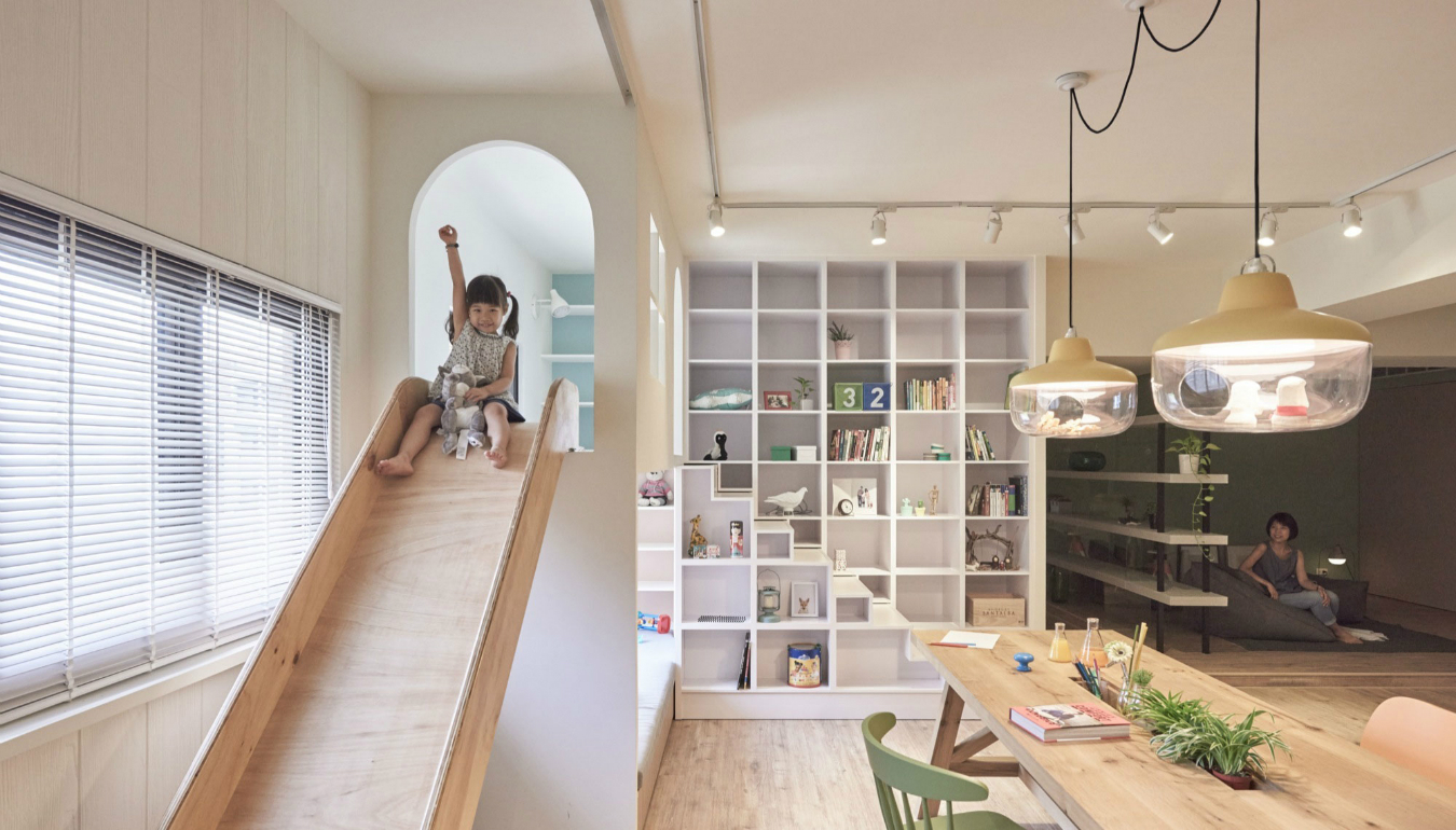 The family playground by hao design is the uitimate family home inspirations