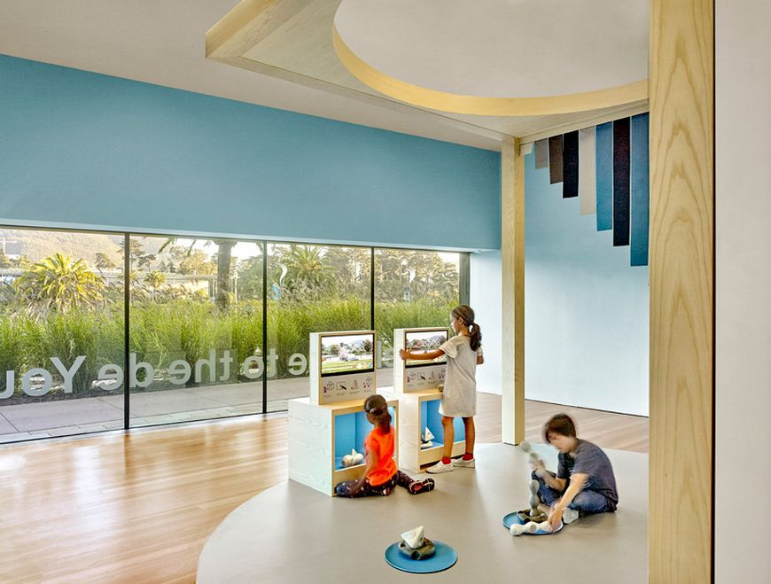 An Interactive Children's Gallery In San Francisco by Yves Béhar