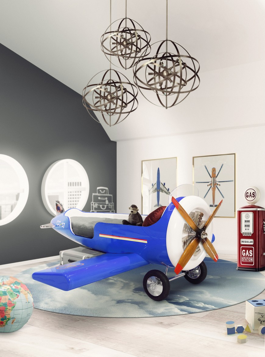 Kids Bedroom Trends 2019 - Lacquered Colours
