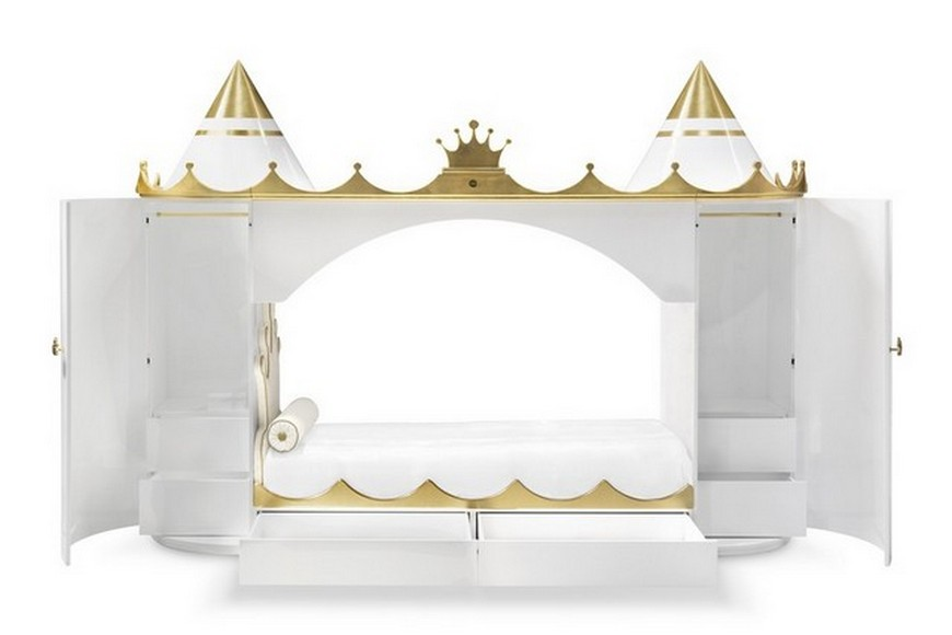 Beds for Kids Ideas - A Bed that Transpires Royalty