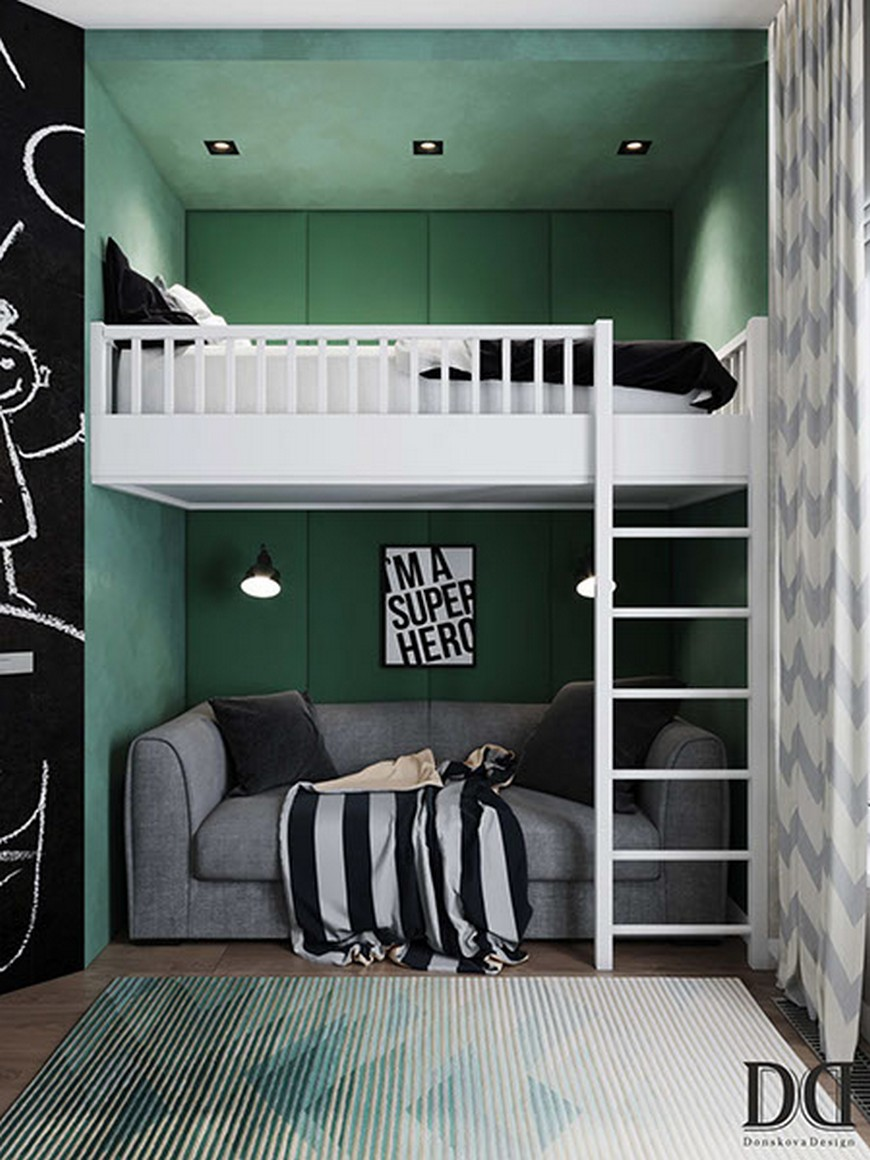 Anna Donskova Design Studio Creates Amazing Kids Bedrooms