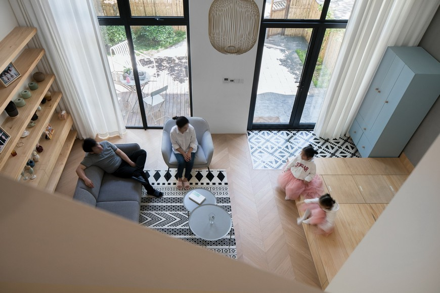 Kids Space Ideas – An Awesome Apartment by Atelier D+Y Atelier DY Created an Awesome Two Kids Family Apartment 1