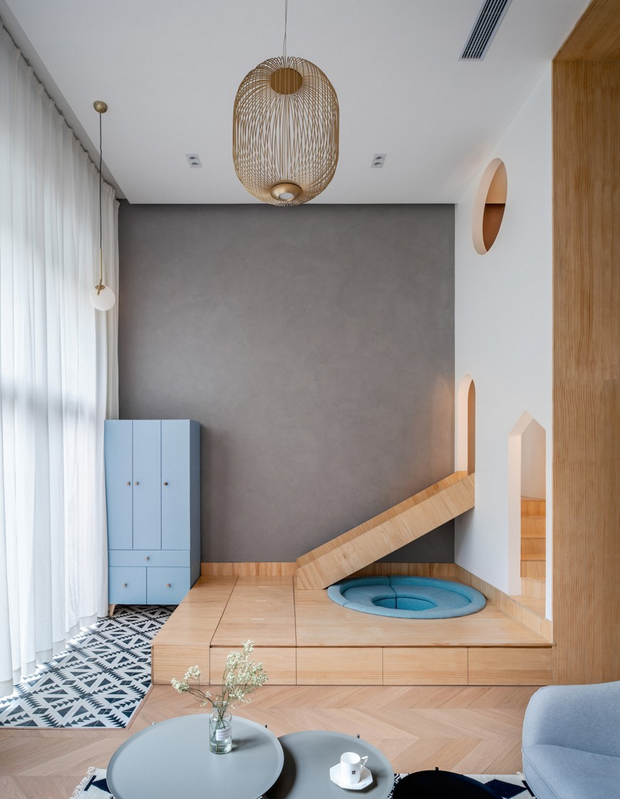 Kids Space Ideas – An Awesome Apartment by Atelier D+Y Atelier DY Created an Awesome Two Kids Family Apartment 2
