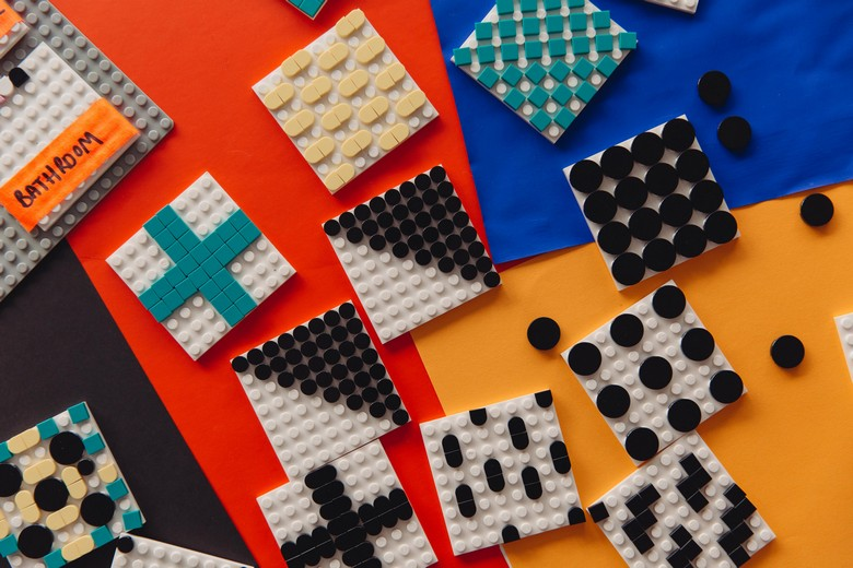 Lego Kids Dream House by Camille Walala