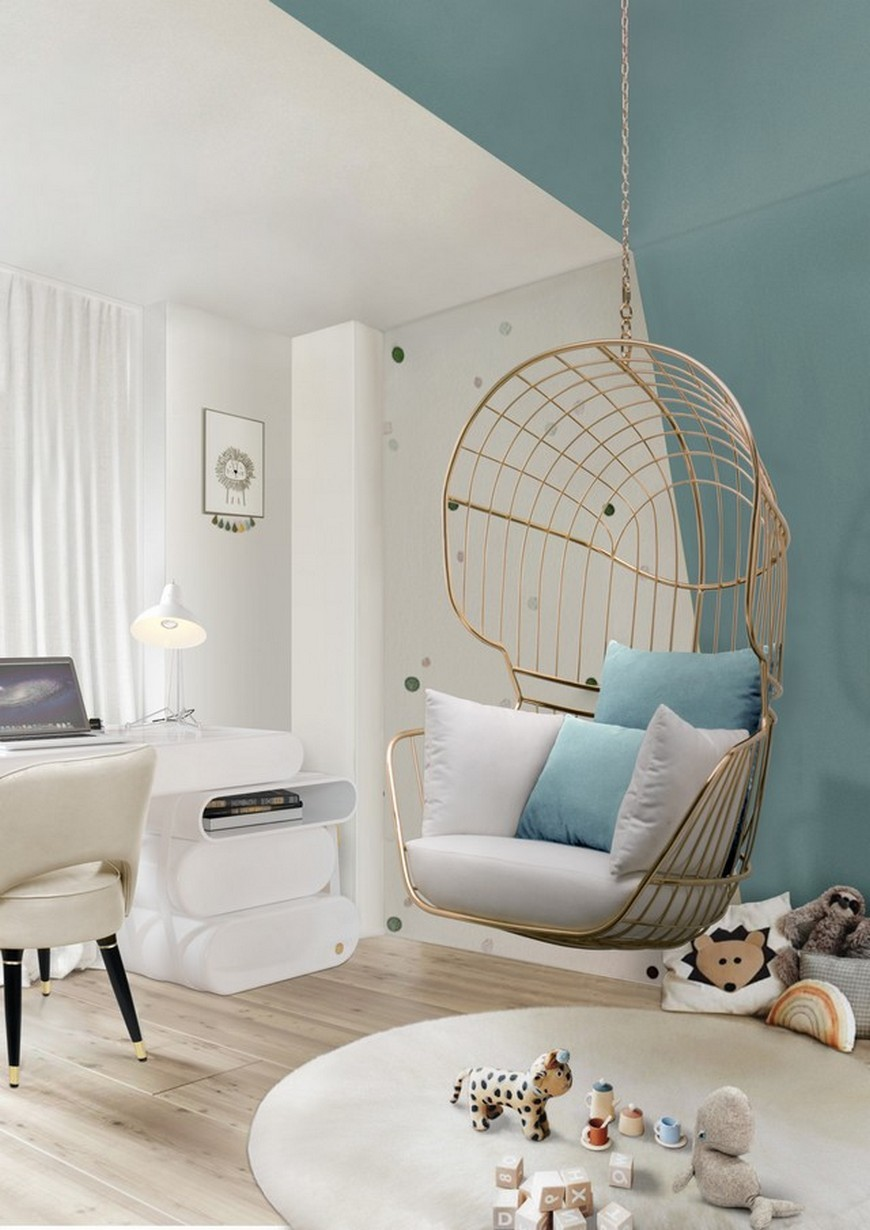 Image of: Mid Century Modern Vibes In Your Kids Bedroom Inspirations