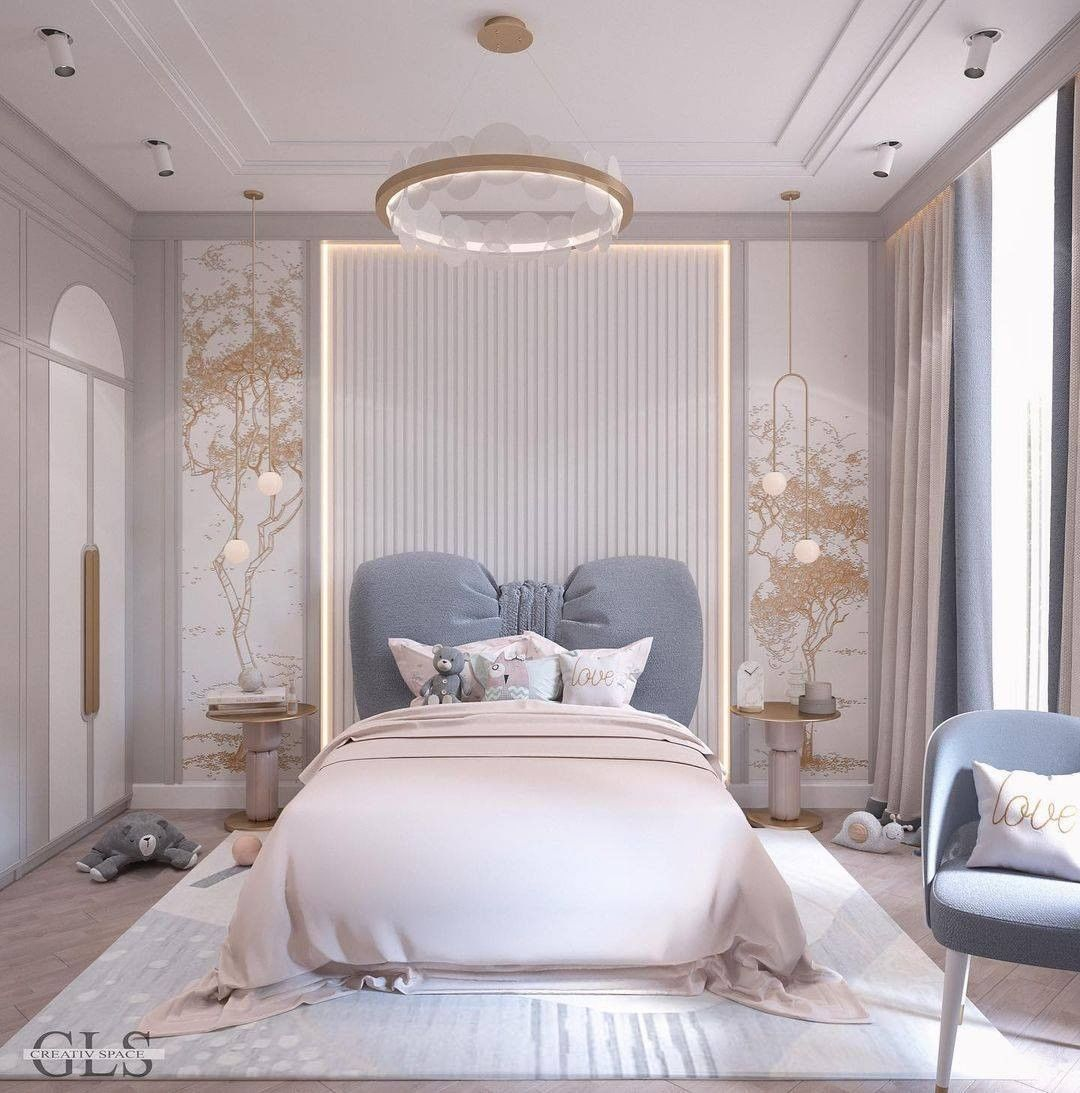 Luxury Girl Bedroom design for a little princess