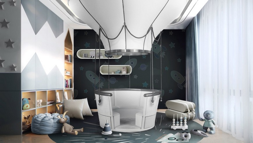 Themed Kids Bedrooms that will Make you Fall in Love Quickly space-themed kids bedroom Get a Space-Themed Kids Bedroom Effortlessly With Our Help! Themed Kids Bedrooms that will Make you Fall in Love Quickly 1