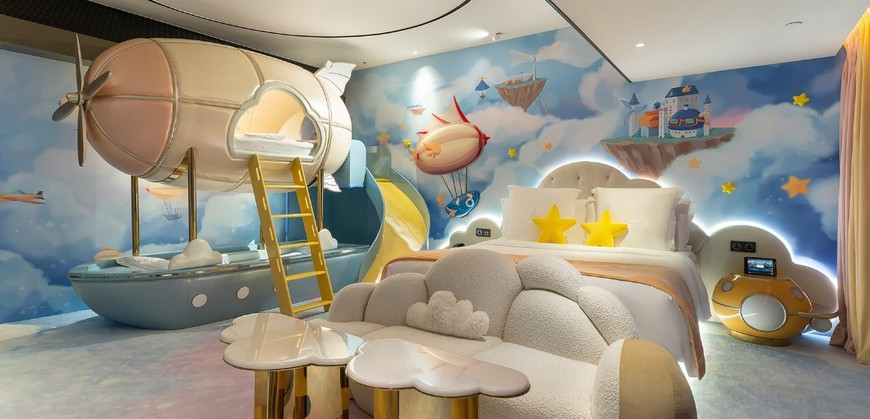 Themed Kids Bedrooms that will Make you Fall in Love Quickly space-themed kids bedroom Get a Space-Themed Kids Bedroom Effortlessly With Our Help! Themed Kids Bedrooms that will Make you Fall in Love Quickly 3