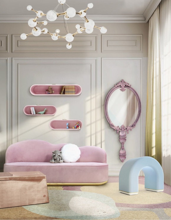 Luxury playroom inspiration for a little princess