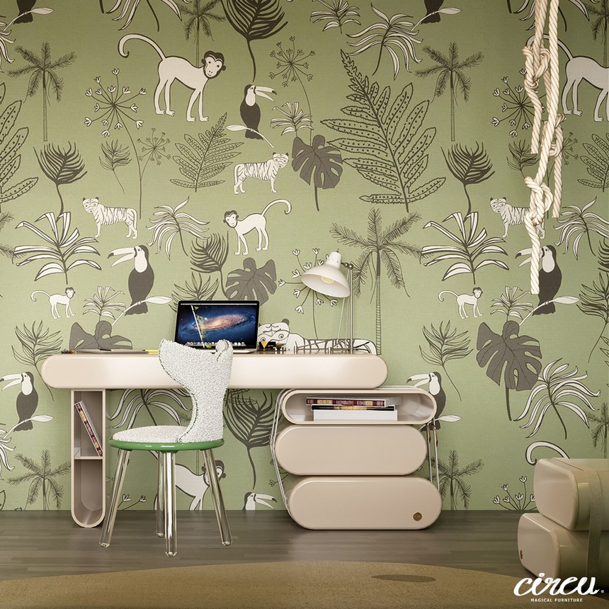 Kids Bedroom Ideas - The Best Jungle-Themed Bedroom Ever kids bedroom ideas Kids Bedroom Ideas – The Best Jungle-Themed Bedroom Ever Kids Bedroom Projects A Jungle Inspired bedroom Youll Love 4