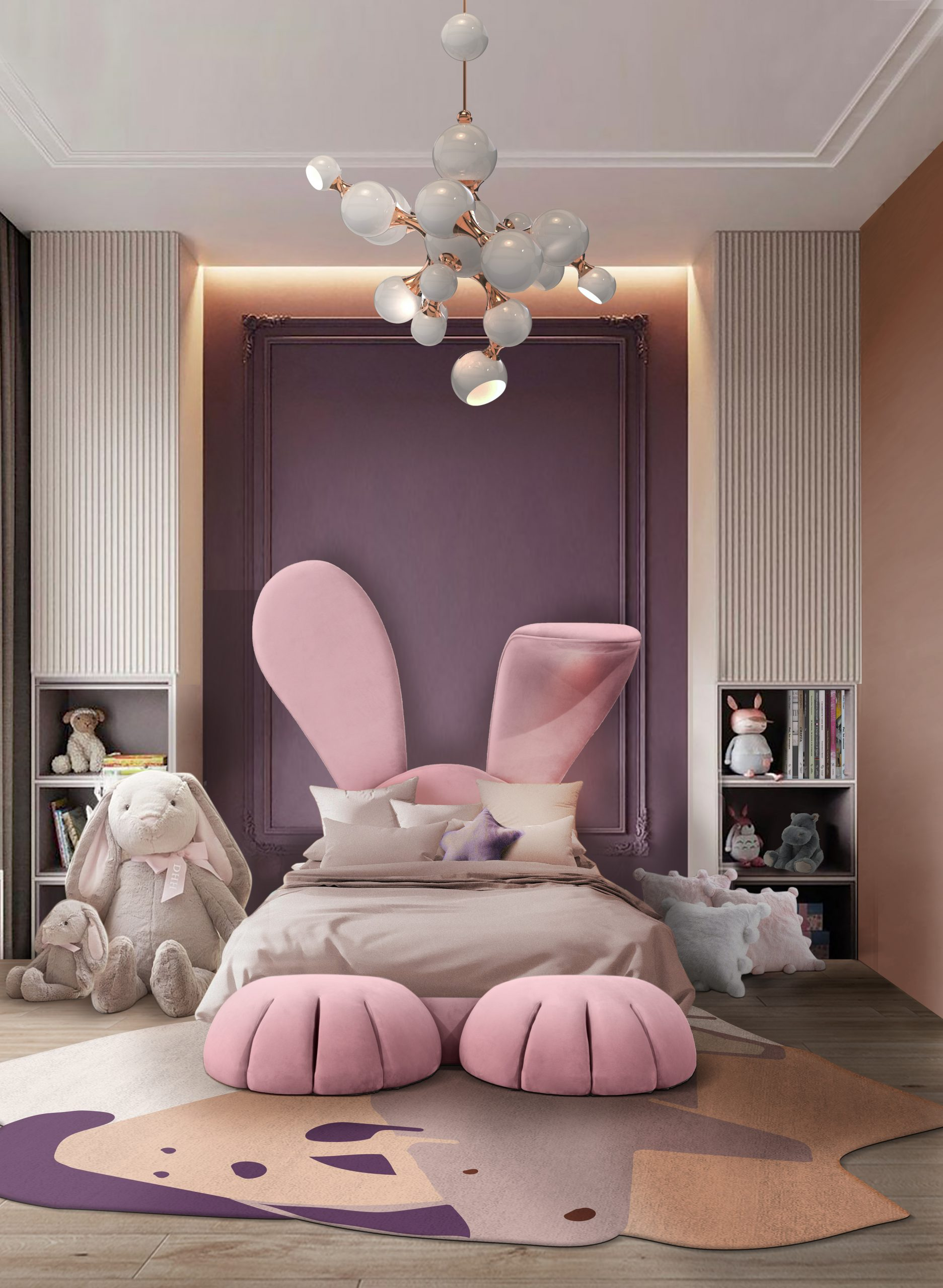Bunny-shaped bed your kids room needs is our Mr. Bunny bed