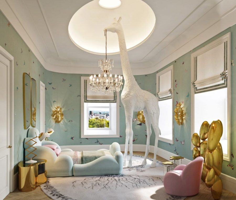 A Luxurious Kids Sleeping Area by Britto Charette-1