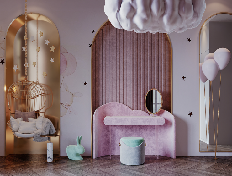 Luxury Girls Room: A Beautiful corner filled with Magic