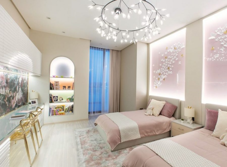 An Elegant Shared Bedroom project by XBD Collective