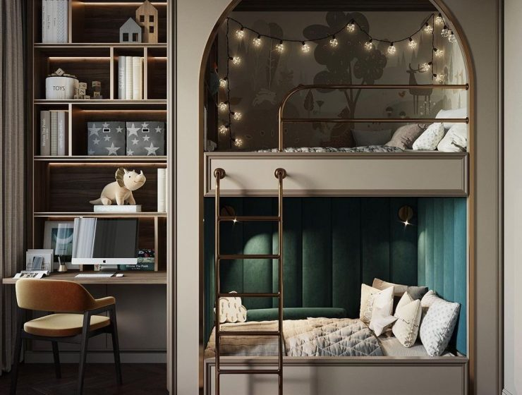 Luxury Bunk Bed Inspiration