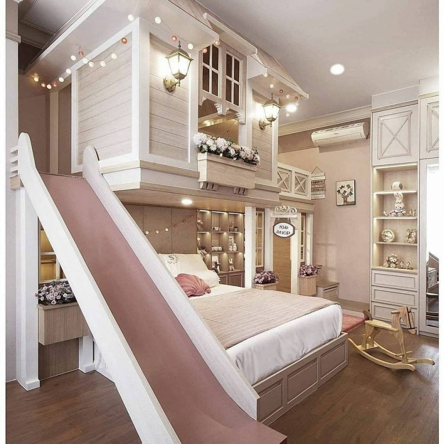 Luxury Girl Playhouse by CYL Interior design