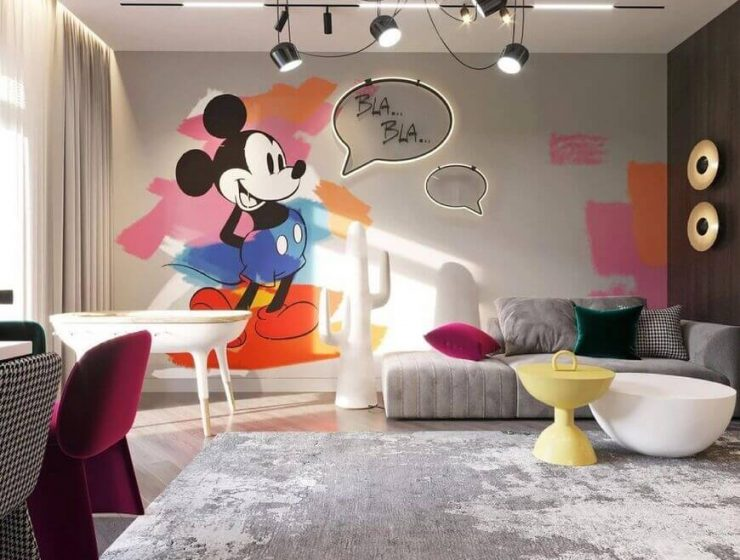 Kids' Playroom | A Fun Kids' Area In A Living Room