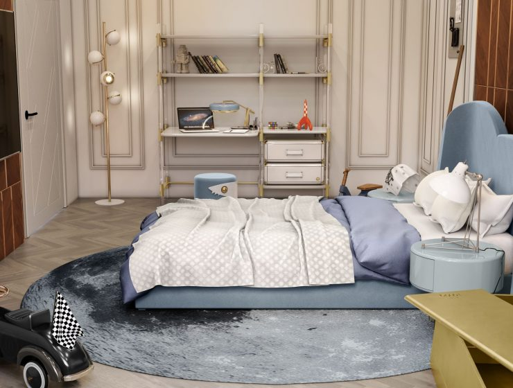 Luxury Boy's Bedroom Design with the most Elegant Pieces of Furniture