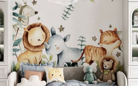 Adorable kids room design by Leyla Interiors
