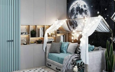 Luxury Kids Room by Textura Architects